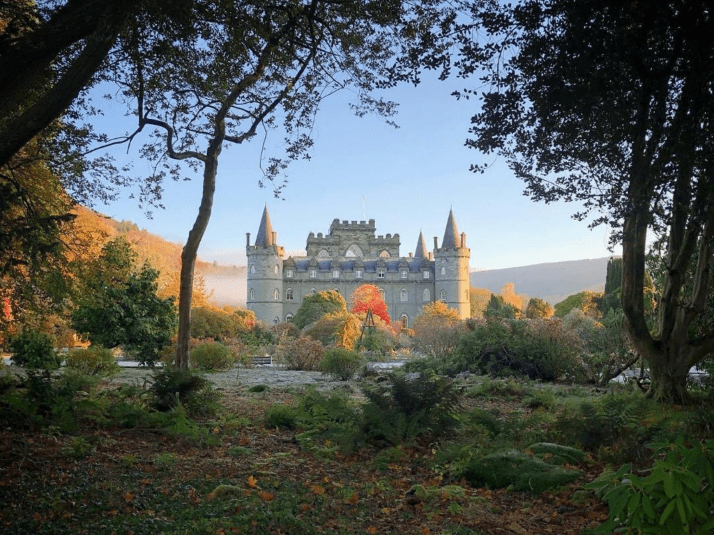 Castle in autumn resized